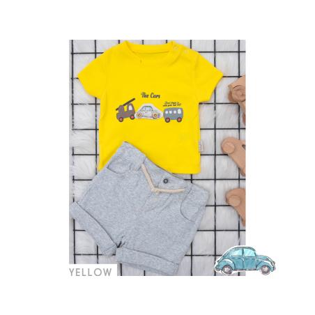חליפה ביבי צהוב