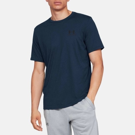 חולצת אנדר ארמור גברים | Under Armour Sportstyle Left Chest SS