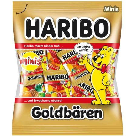 Haribo goldbaren דובוני גומי מיניס250 g
