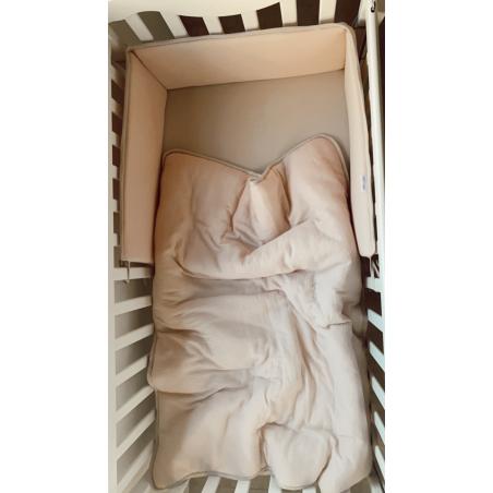 סט למיטת תינוק נס קפה   Natural Tetra
