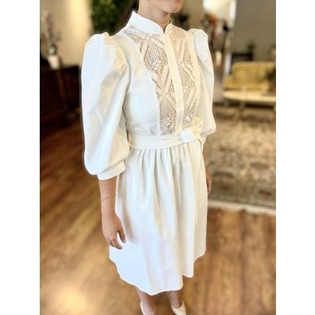 Lia Dress - White