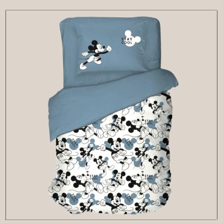 מיקי מאוס כחול מיטה וחצי-