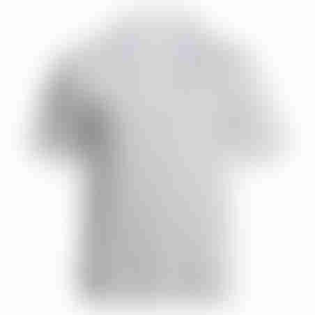 פולו קצר טקסטורה 4 - לבן