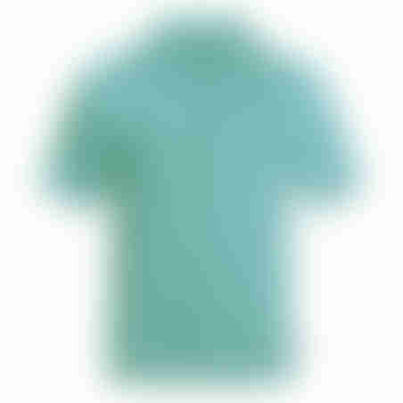 פולו קצר פיקה - ירוק פסטל