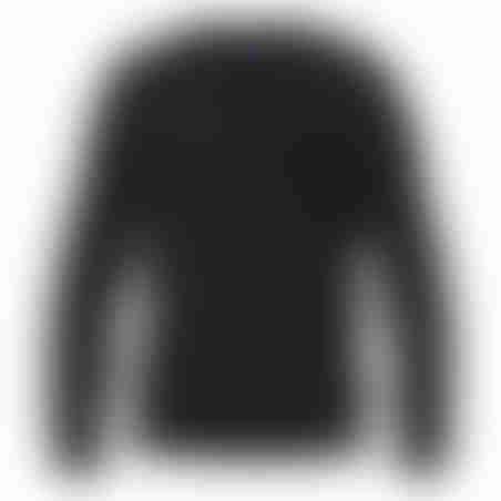 סריג V-Neck Cashmere Embroidery - אפור כהה