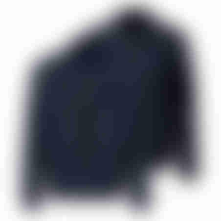 מעיל דו-צדדי - נייבי צמר