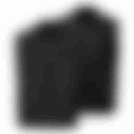 ווסט דו-צדדי צמר - שחור