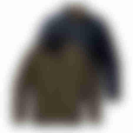 מעיל דו-צדדי - כאמל / נייבי