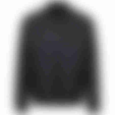 ג׳קט ספורט צווארון ריב - שחור