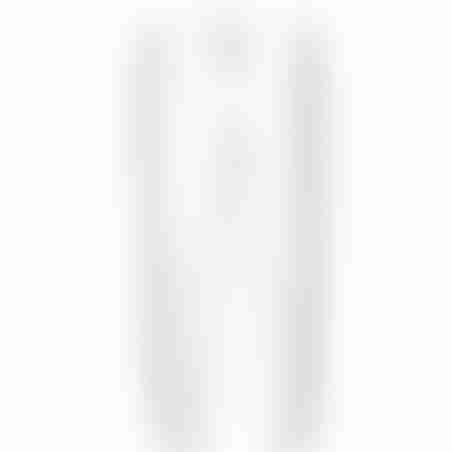 מכנסי ספורט (טרינינג) סקיני סרט צדדי- לבן