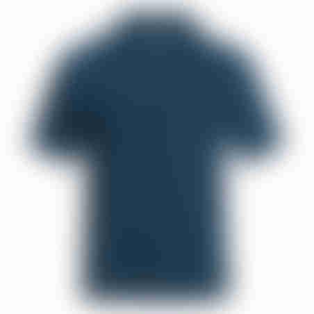 פולו קצר פרימיום - כחול