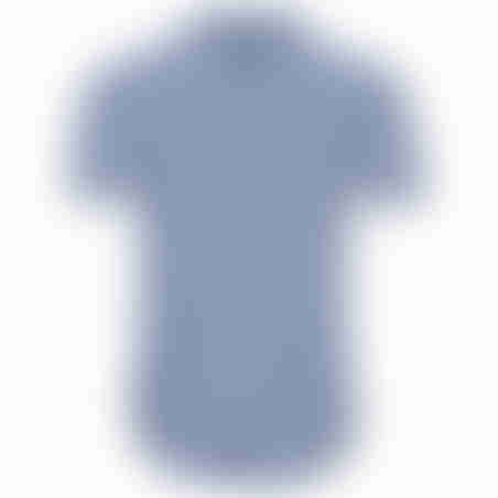 חולצת פסים דקים קצרה - נייבי