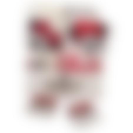מארז דיסני לבת - מיני מאוס לבן שחור אדום