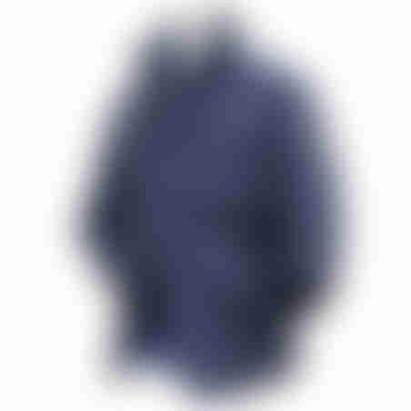 מעיל צווארון ריב נשלף - נייבי