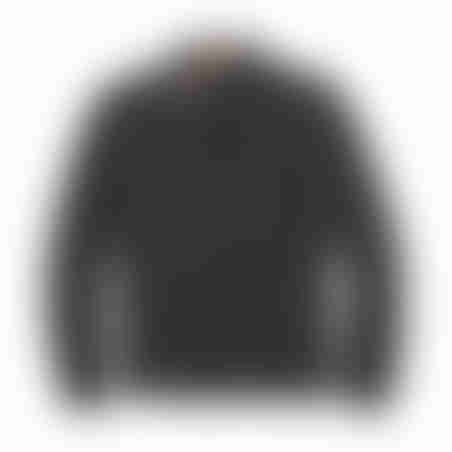 סווטשרט 1/2 רוכסן עם משבצת בצווארון - אפור