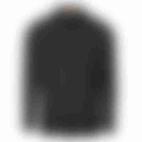 סווטשרט פולו עם משבצת בצווארון - אפור