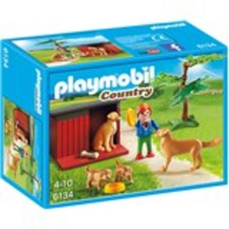 פליימוביל 6134 - ילד עם מלונת כלבים