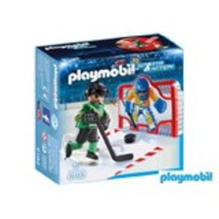 פליימוביל 6192 - שחקן הוקי קרח ושער