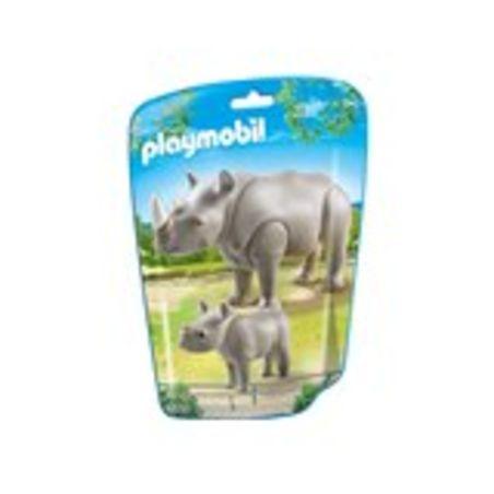 פליימוביל 6638 - קרנפית וקרנף תינוק