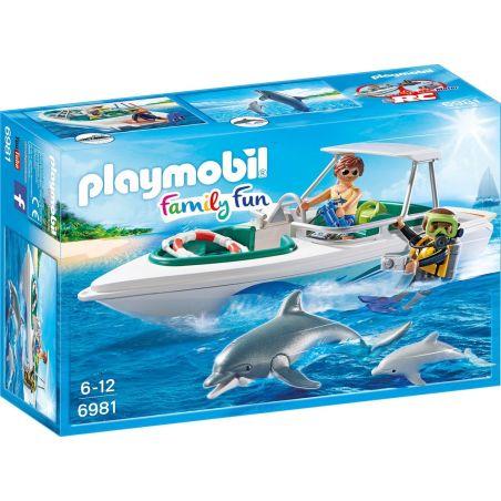 פליימוביל 6981 - יאכטה עם דולפינים