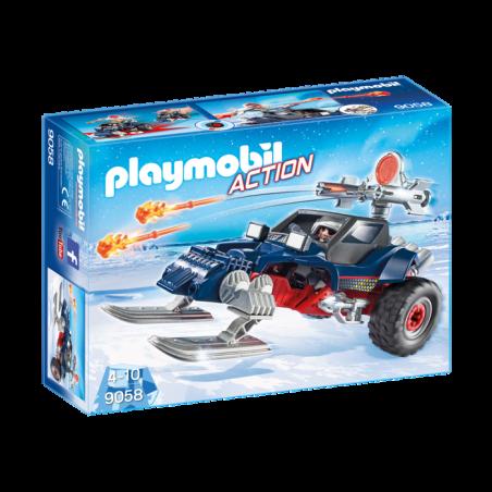פליימוביל 9058 - פיראט קרח עם רכב שלג