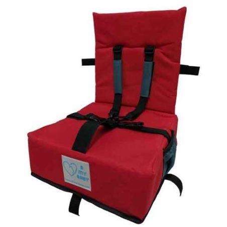 כיסא הגבהה עם רצועות