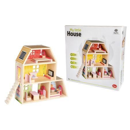 בית בובות מעץ