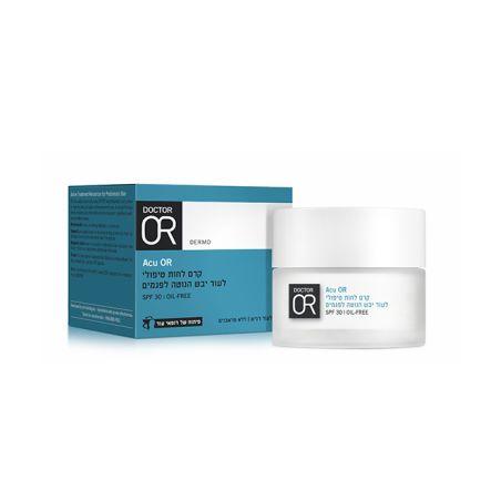 DR OR קרם לחות טיפולי לעור יבש הנוטה לפגמים 50 מ