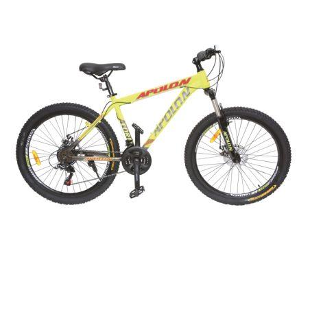 אופני הרים 26 צהוב ברקסים דיסק