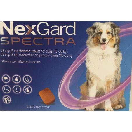 נקסט גארד ספקטרה לכלבים במשקל 15- 30 ק