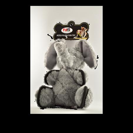 בובת משחק בצורת פיל צבע אפור