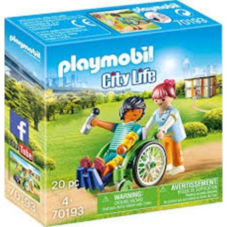 פליימוביל 70193 - חולה בכסא גלגלים
