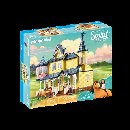 פליימוביל 9475 - ביתה השמח של לאקי