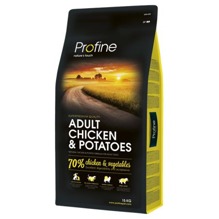 פרופיין - מזון יבש לכלבים בוגרים, עוף ותפוחי אדמה  15 קילו  - profine