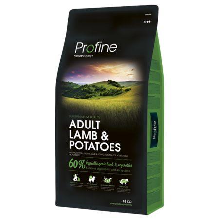 פרופיין - מזון יבש לכלבים בוגרים, כבש ותפוחי אדמה 15 קילו- profine