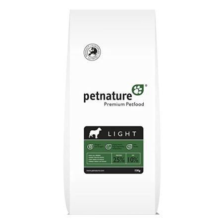 פט נייצר - מזון פרמיום לכלבים סניור\לייט  עוף 15 קילו - pet nature