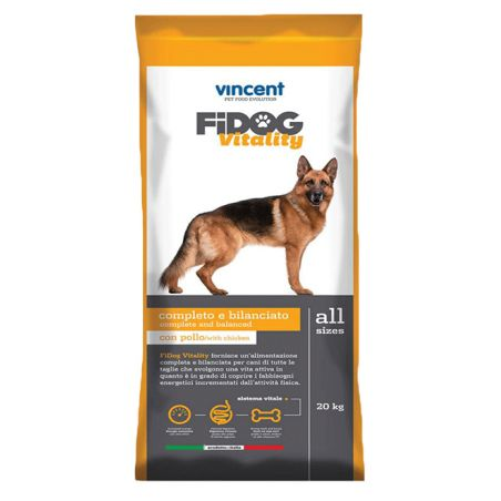 פידוג ויטליטי -מזון יבש לכלבים בוגרים עוף ובקר 20 ק