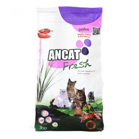 איי אן סי -  מזון לחתולים בוגרים  עוף וירקות 15 קילו - ANCAT
