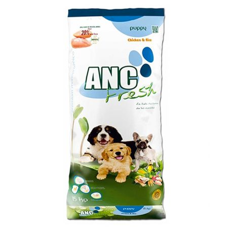 איי אן סי -  מזון יבש לגורי כלבים בטעם עוף 3 קילו - ANC