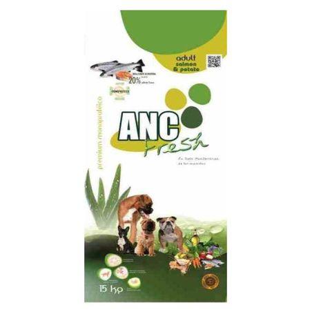 איי אן סי - מזון יבש לכלבים בוגרים היפואלרגני סלמון 15 קילו - ANC