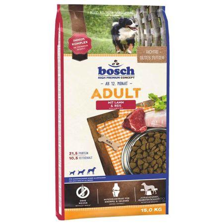 בוש- מזון יבש לכלבים בוגרים על בסיס עוף 15 קילו - BOSCH