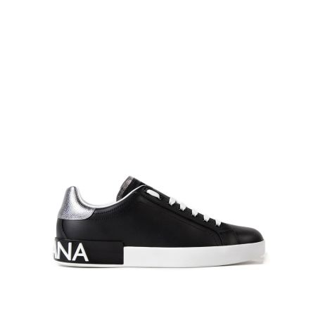 DOLCE & GABBANA - Portofino leather sneakers