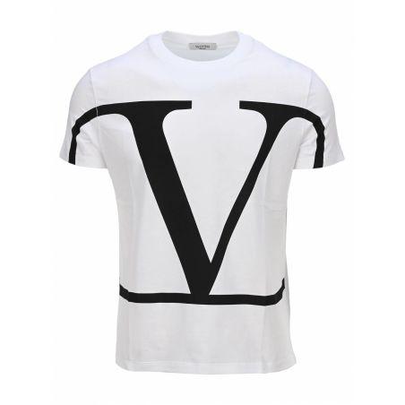 VALENTINO - VLogo t-shirt in white