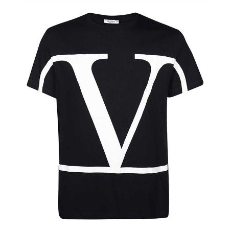 VALENTINO - VLogo t-shirt in black