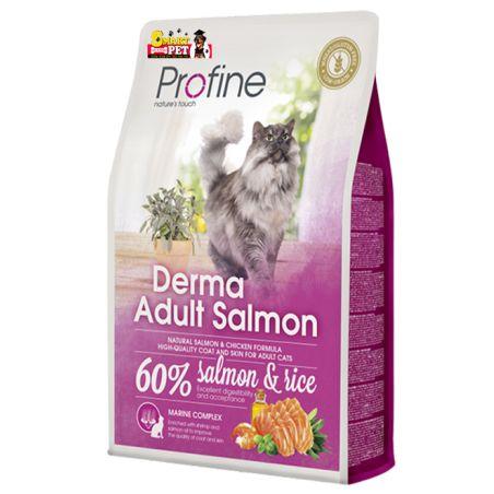 פרופיין - מזון יבש לחתולים בוגרים סלמון 2 קילו - profine