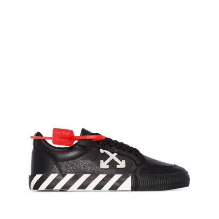 OFF-WHITE -LOW VULCANIZED SNEAKERS  -LEATHER
