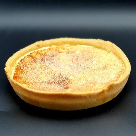 קיש גבינה פטריות ושומשום לבן