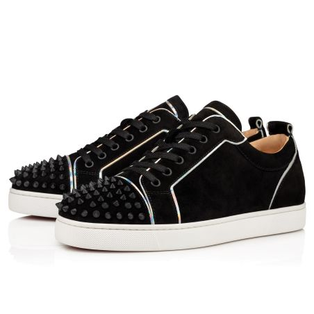 Christian Louboutin- Louis Junior Spikes Orlato Flat