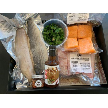 הקיט המושלם לארוחת דגים זוגית