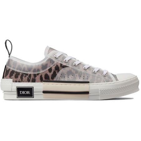 Dior - B23 Low Top Brown Leopard